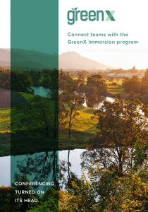 GreenX7 Immersion Program Booklet Cover